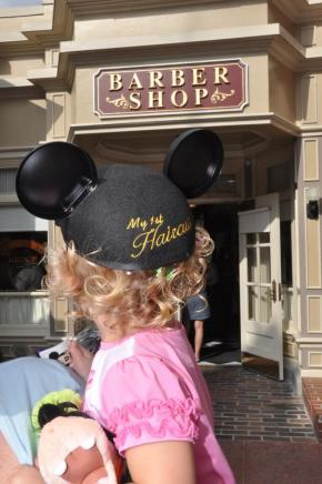 First Haircut: A Magic Kingdom Extra